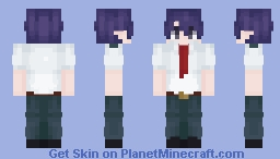 Tamaki Amajiki Minecraft Skin