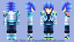 🐬Everyone Believes In You, But You Don't Even Believe In Yourself. Isn't That Kinda Sad?🐬 [DMMd Aoba Seragaki] Minecraft Skin