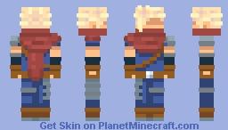 Zack's Shadow Minecraft Skin
