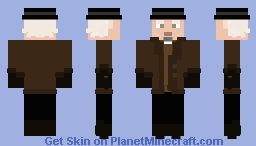 Back to the Future III - Doctor Emmett Brown Minecraft Skin