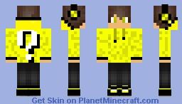 Lucky Block Boy Minecraft Skin