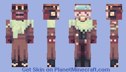 Dusty glide Minecraft Skin