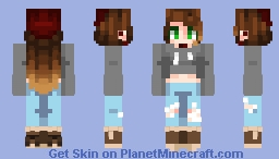[Kari] Just a Normal Girl Minecraft Skin