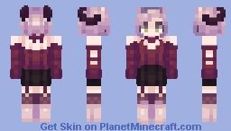 Horns || Happu Valentine's-mas Minecraft Skin