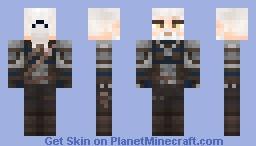 Geralt of Rivia (The Witcher 3: Wild Hunt) Minecraft Skin