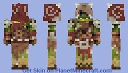 Hoital'Lurob the master shaman Minecraft Skin