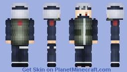 Kakashi Hatake, 26 age [Sensei] Minecraft Skin