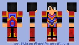 SamuraiOrochi armor (no gauntlet) Minecraft Skin