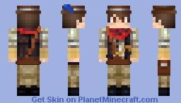⚔ Λοgαη ⚓ OC - Newt Timberland (Western Contest Entry) Minecraft Skin