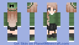 【 𝚆𝚒𝚜𝚑 】 // Not all Slytherins are Snakes Minecraft Skin