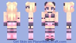 🌸 Pink Mood Minecraft Skin