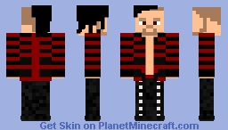 Shinsuke Nakamura (Entracne) Minecraft Skin