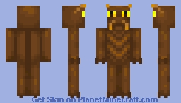 Cockroach  (look's avesome with elytra) Minecraft Skin