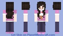 Deliah/Pink T-shirt Minecraft Skin