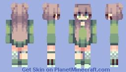 greenygrey Minecraft Skin