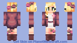 she wants it her way, and there's no way she'll ever stay, unless you give it up Minecraft Skin