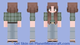 1970's Girl Minecraft Skin