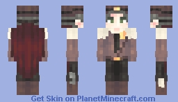 THEre'S a WieRD shERiff in TOwn Minecraft Skin