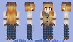 "ℒε!𝓪 ~ ""I'm not a lady, I'm a Doctor"" ~ Dr. Michaela Quinn MD ~ Contest Entry Minecraft Skin"
