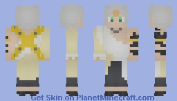 Larcade Dragoneel | White Dragoneel | FairyTail Minecraft Skin