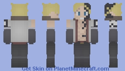 Sting Eucliffe | White Shadow Dragon | FairyTail Minecraft Skin