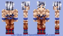 Son Goku mastered ultra instinct|Dragon ball Super Minecraft Skin