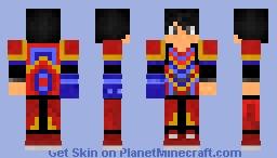 SamuraiOrochi armor Minecraft Skin