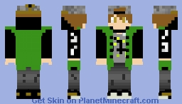 AlphA fixed Minecraft Skin