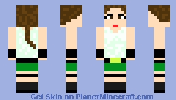 Tomb Raider PS1 request from JohnnyColdWater Minecraft Skin