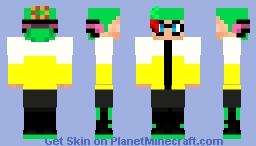 Pete Inkling (Agent 4) (Splatoon 2) Minecraft Skin