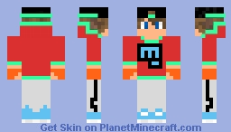 Cool Dude Minecraft Skin