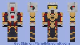 Wasp - MCU (Better in 3D view) Minecraft Skin