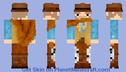 Mr. Cowboy Minecraft Skin