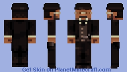 James West [Wild Wild West] Minecraft Skin
