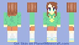 Riko Saikawa Minecraft Skin