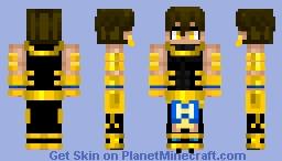 Ozymandias オジマンディアス Fate/Grand Order Minecraft Skin