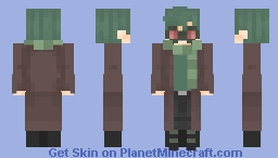 Green hair | Request Minecraft Skin