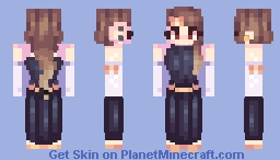 Pie • Persona In a Dress Minecraft Skin