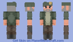 "William ""Bill"" Overbeck from Left 4 dead (Request from GenuineKnight ) Minecraft Skin"