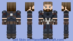 Avengers Infinity War - Nomad / Captain America Minecraft Skin