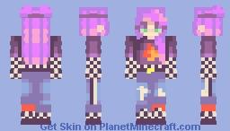 fngrs crssed Minecraft Skin