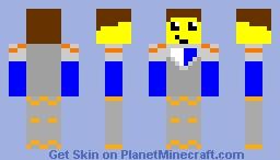 Clay Minecraft Skin