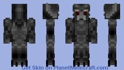Dark Robot Minecraft Skin