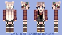 dark paradise // Minecraft Skin