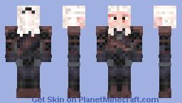 Geralt [re-made] Minecraft Skin