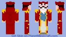 Gold Rogers Minecraft Skin