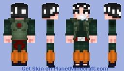 Might Guy Minecraft Skin