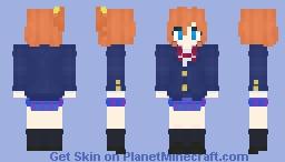 Honoka Kōsaka [Love Live! School Idol Project] µ's Minecraft Skin