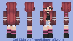 ✩  Frigid Hearts Minecraft Skin