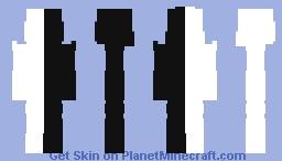 ~=Ädöhäd4=~ ::Life Isn't All Black and White:: Minecraft Skin